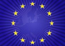 Europa-Sterne Stockfoto