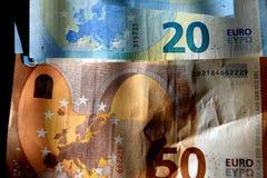EUROPA strefa euro Obrazy Royalty Free