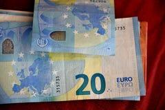 EUROPA strefa euro Zdjęcia Royalty Free