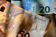EUROPA strefa euro Obraz Stock