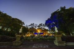 Europa stylu ogród w Songshan Kulturalnym i Kreatywnie parku Zdjęcie Royalty Free
