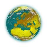 Europa su pianeta Terra royalty illustrazione gratis
