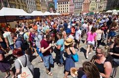 ` Europa sull'evento del ` della forcella Fotografia Stock Libera da Diritti