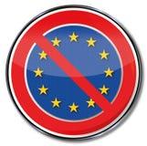 Europa, trötthet och kassering Arkivbild
