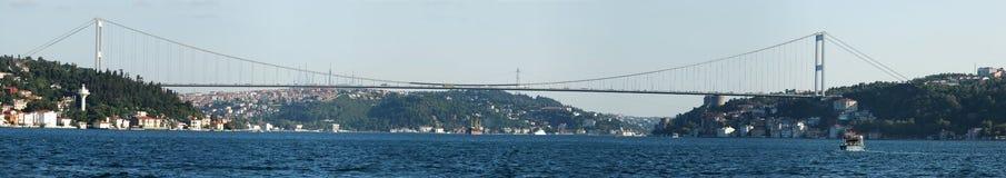 Europa trifft Asien - Istanbul Stockfotografie