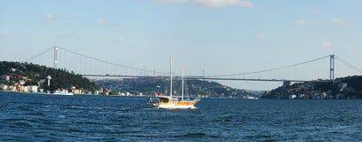 Europa trifft Asien - Istanbul Stockfotos