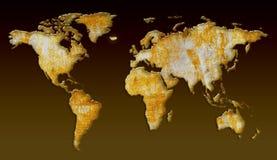 Europa värld Royaltyfri Fotografi