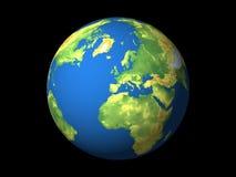 Europa värld Royaltyfria Bilder