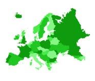 Europa vector illustration stock photo