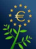 Europa-Wachstum Stockfoto