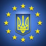 Europa y Ucrania Fotos de archivo libres de regalías