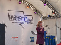 Europafest a Berlino Fotografia Stock