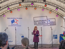 Europafest en Berlín Imagen de archivo