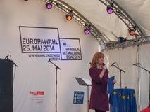 Europafest i Berlin Arkivbild