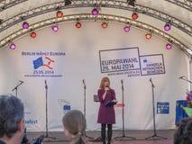Europafest i Berlin Fotografering för Bildbyråer