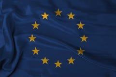 europaflagga Arkivfoto