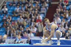 5. Europameisterschaften in der künstlerischen Gymnastik Stockbild