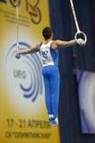 5. Europameisterschaften in der künstlerischen Gymnastik Lizenzfreie Stockfotos