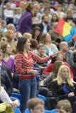 5. Europameisterschaften in der künstlerischen Gymnastik Lizenzfreie Stockbilder