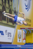 5. Europameisterschaften in der künstlerischen Gymnastik Lizenzfreies Stockbild