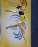 5. Europameisterschaften in der künstlerischen Gymnastik Lizenzfreie Stockfotografie