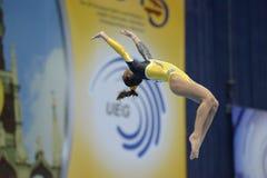 5. Europameisterschaften in der künstlerischen Gymnastik Lizenzfreies Stockfoto
