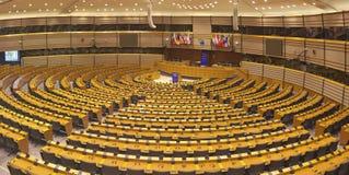 Europaparlamentetkammare Royaltyfri Foto