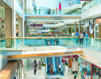 Europark Maribor shapping mall Royalty Free Stock Image