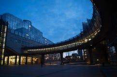 Europarliament στις Βρυξέλλες Στοκ Φωτογραφίες