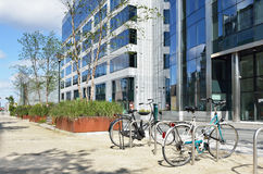 Europaviertel in der Mitte von Brüssel Lizenzfreies Stockbild
