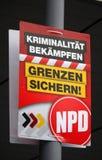 Europawahlen Stockbild