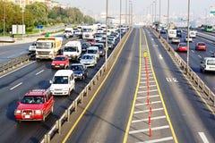 Europaweite Autobahn Lizenzfreies Stockbild