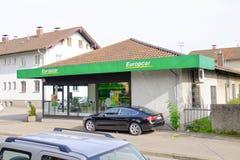 Europcar Fotografia Stock