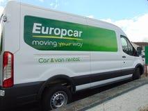 Europcar Van Stock Photos