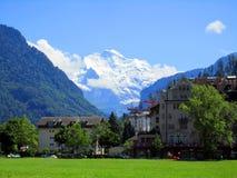 Europe alps, mountain in summer Stock Photos