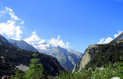 Europe alps, mountain in summer Royalty Free Stock Photo