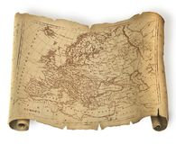 europe antyczna mapa Obraz Royalty Free