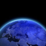 Europe and Asia 3d render Stock Photos