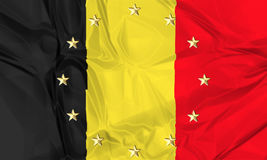 Europe and Belgium Stock Image