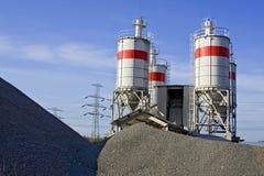 europe betonowa fabryka Zdjęcia Stock