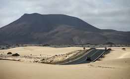 EUROPE CANARY ISLANDS FUERTEVENTURA Royalty Free Stock Photo