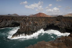 EUROPE CANARY ISLANDS LANZAROTE Royalty Free Stock Photo