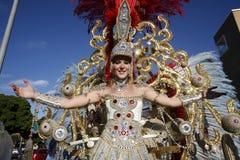 EUROPE CANARY ISLANDS LAS PALMAS CARNEVAL Royalty Free Stock Image