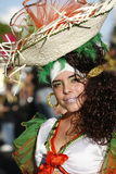 EUROPE CANARY ISLANDS LAS PALMAS CARNEVAL Stock Image