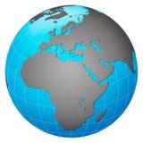 europe centryczna ziemska planeta Obraz Royalty Free