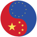 Europe and China Royalty Free Stock Photo