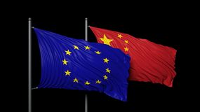 Europe and China Royalty Free Stock Photos