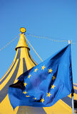 Europe and the circus .. Stock Photos