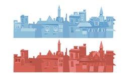 Europe city background -  Royalty Free Stock Photo