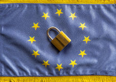 Europe closing Borders Royalty Free Stock Photography